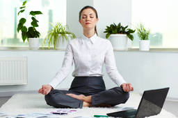Corporate yoga: Bringing meditation into the workplace