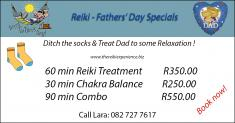 Fathers' Day - Ditch the socks Northcliff Reiki _small