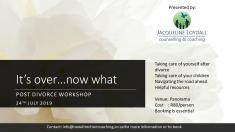 Post Divorce Workshop - It's over...what now? Panorama Couples _small