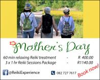 Mothers' Day Reiki Specials Northcliff Reiki _small