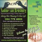 Nadine van Rensburg Counselling Therapist